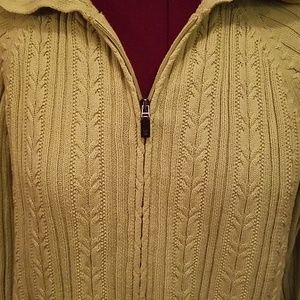 Elisabeth Sweaters - Elisabeth Plus size zipper sweater